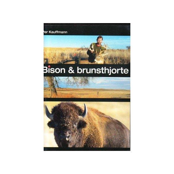 Bison og brunsthjorte